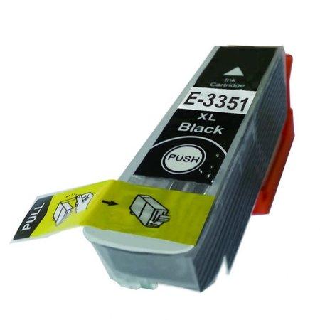 Huismerk Epson 33XL (T3351) Black inkt Cartridge Incl. Chip