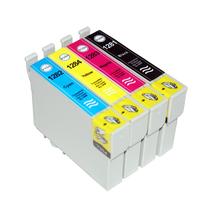 Set Compatible Epson 1285 BK C M Y XL inkt Cartridge Incl. Chip