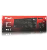 NGS Epsilon Wireless toetsenbord en muis
