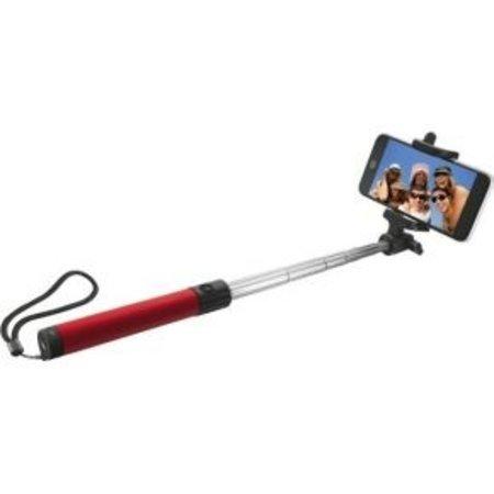 Selfie stick met bluetooth Red OP=OP