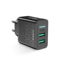 Floveme 5v 2.4a 2x USB oplader Fast Charger
