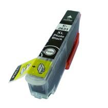 Epson T26 XL ( 2631 ) Photo Black  inkt Cartridge Incl. Chip