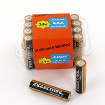 Alkaline AAA batterijen boxje 24
