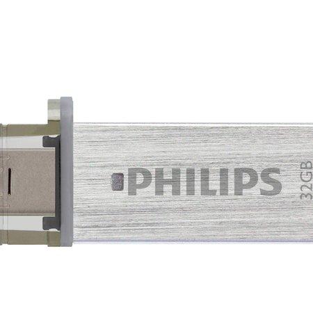 Philips 32Gb 3.0 USB stick USB / MicroUSB aansluiting