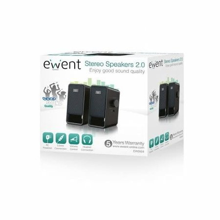 Ewent EW3504 2.0 speaker set