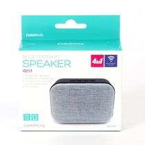 OG58BL draagbare luidspreker - speaker - Blauw