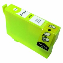 Epson T1284 Yellow Compatible Inkt Cartridge Incl. Chip