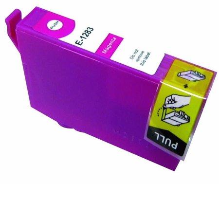 Huismerk Epson T1283 Magenta Compatible Inkt Cartridge Incl. Chip