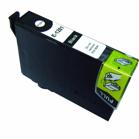 Huismerk Epson T1281 Black Compatible Inkt Cartridge Incl. Chip