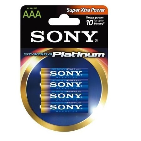 1,5 volt AAA LR3 Stamina Platinum alkaline batterij