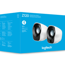 Z120 Stereo Speakers Zilver, zwart set