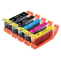 Canon 550 BK C M Y XL Set inkt Cartridge Incl. Chip