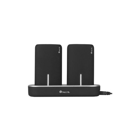 NGS Twin Peaks - Powerbank - 2x 5000MAH / Docking station - oplaadstation