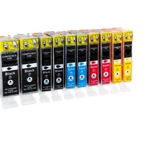 Canon 2x 5BK + 2x 8 C M Y XL inkt Cartridge Incl. Chip Mega pack huismerk