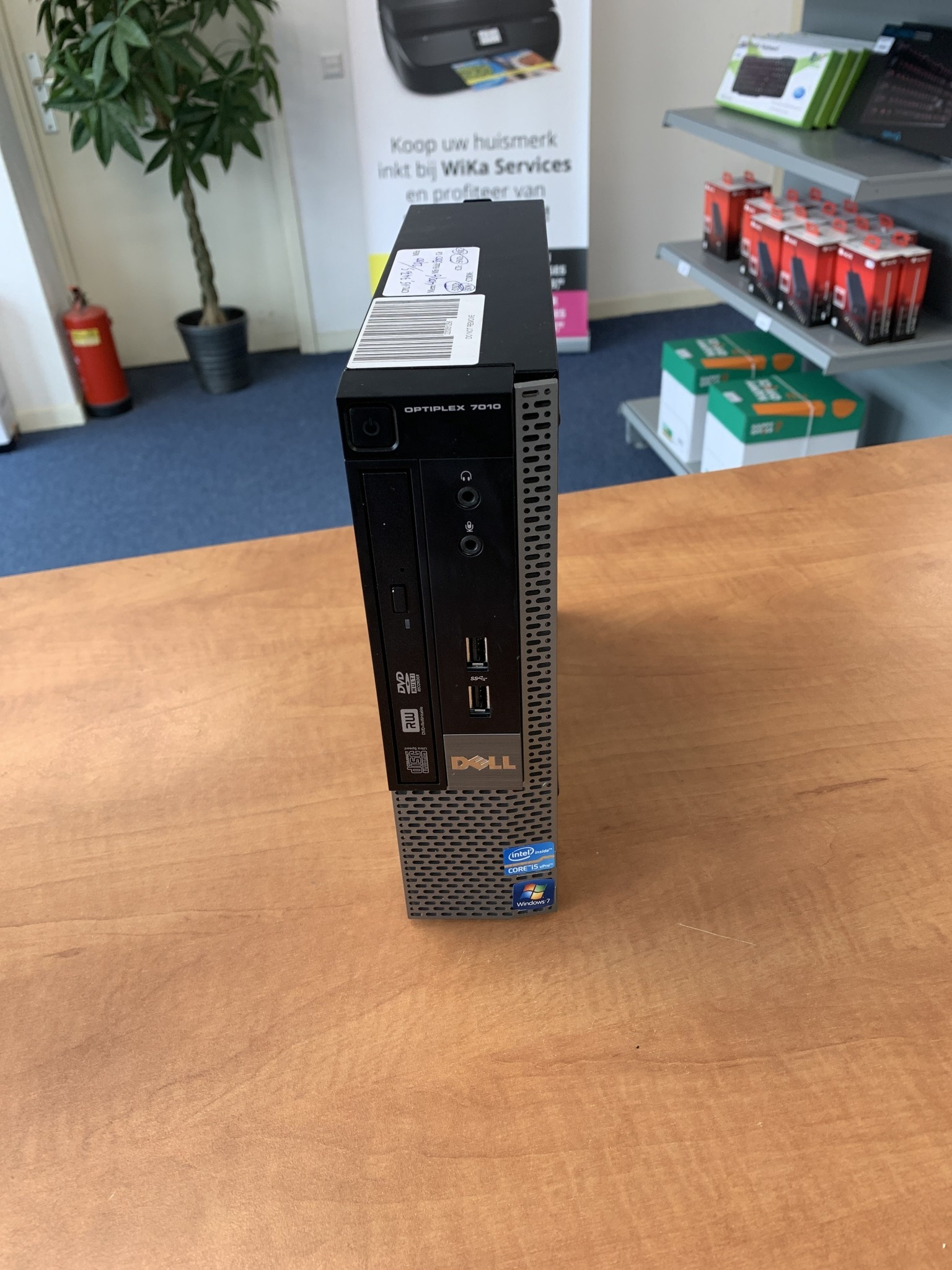 Dell Optiplex 7010 i5-3475S 4GB 256Gb SSD Windows 10 Pro used PC