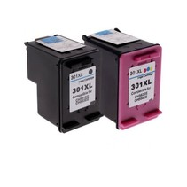 HP 301 Bk + 301 CL XL SET huismerk inkt Cartridge