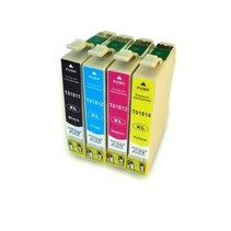 Epson T18 ( 1811 - 1814 ) BK  inkt Cartridge Incl. Chip
