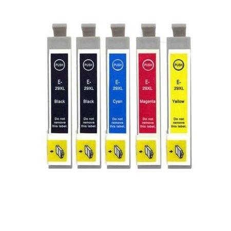 Huismerk Epson 29XL (2991 - 2994) BK C M Y SET inkt Cartridge Incl. Chip