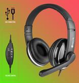 NGS NGS VOX 800 USB Headset met Microfoon