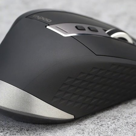 Rapoo MT750S black draadloze 2.4Ghz + Bluetooth muis