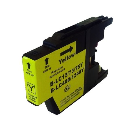 Huismerk Huismerk Brother 1240 XL Yellow Inkt Cartridge