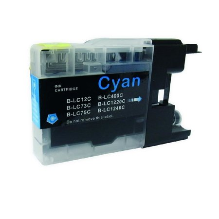 Huismerk Huismerk Brother 1240 XL Cyan Inkt Cartridge