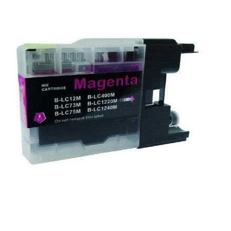 Huismerk Huismerk Brother 1240 XL Magenta Inkt Cartridge