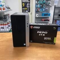 400 G4 i7-7700 8Gb 256Gb SSD GTX-1050Ti 4Gb GamePC