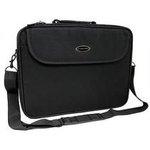ET101 15.4 / 16 inch Laptop Tas Black incl. schouderband.