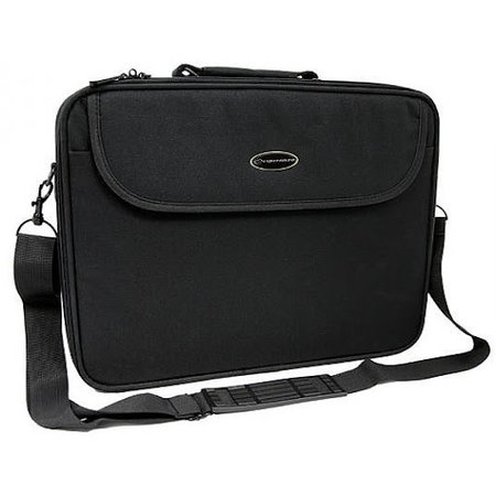 ET101 15.4 / 16 inch Laptop Tas Black incl. schouderband.