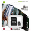 Kingston 16Gb Micro SDHC card incl. adapter