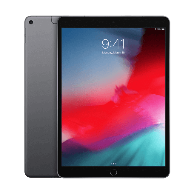 Apple iPad 2019 10.2 inch 32Gb Space Grey Refurbished Tablet