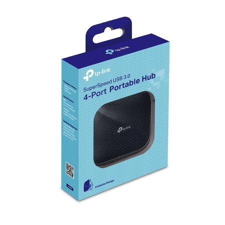 TP-Link UH400 4 poorten USB 3.0 hub Zwart