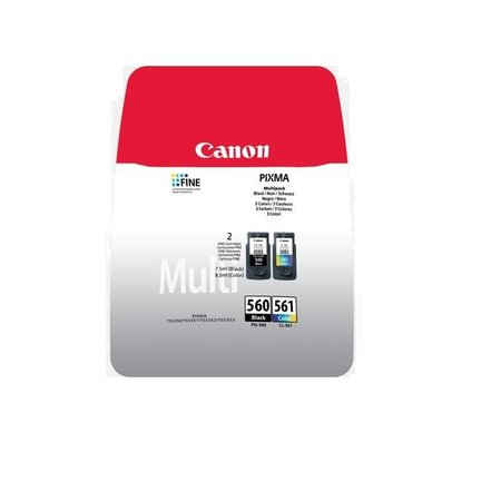 Canon Canon 560 BK + 561 Color Set inkt Cartridge