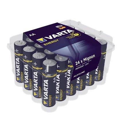 Varta Alkaline AA batterijen voordeelbox 24 stuks