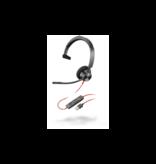 Plantronics Poly Blackwire BW3310 USB Headset met Microfoon