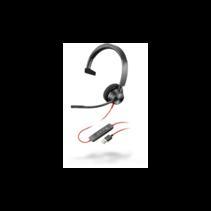 Poly Blackwire BW3310 USB Headset met Microfoon