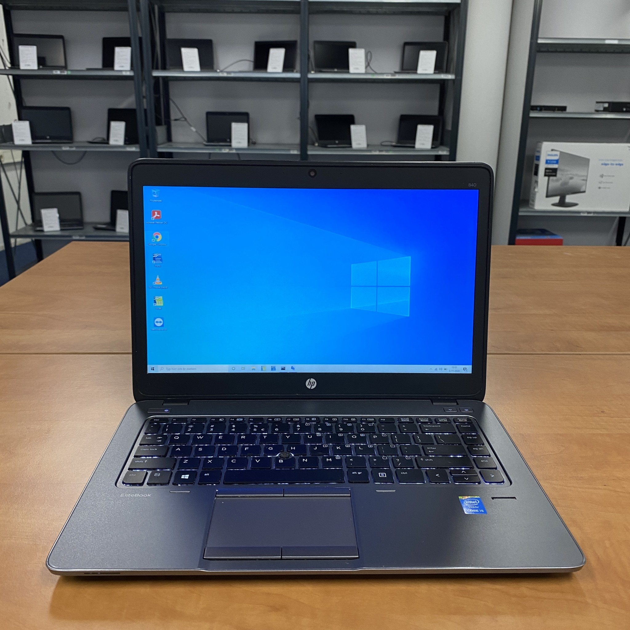 HP Elitebook 840 G2 i5-5200U 8Gb 180Gb SSD 14.1inch laptop