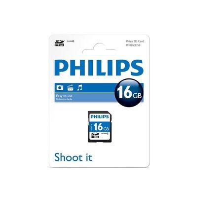 Philips SDHC Card 16GB Class 4 N