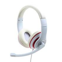 Headset met microfoon, enkele 3.5mm jack aansluiting