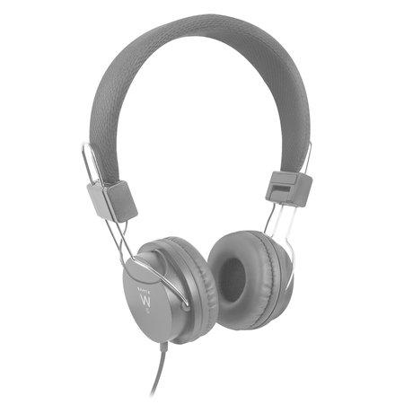 Ewent EW3573 Headset met microfoon 3.5mm jack aansluiting