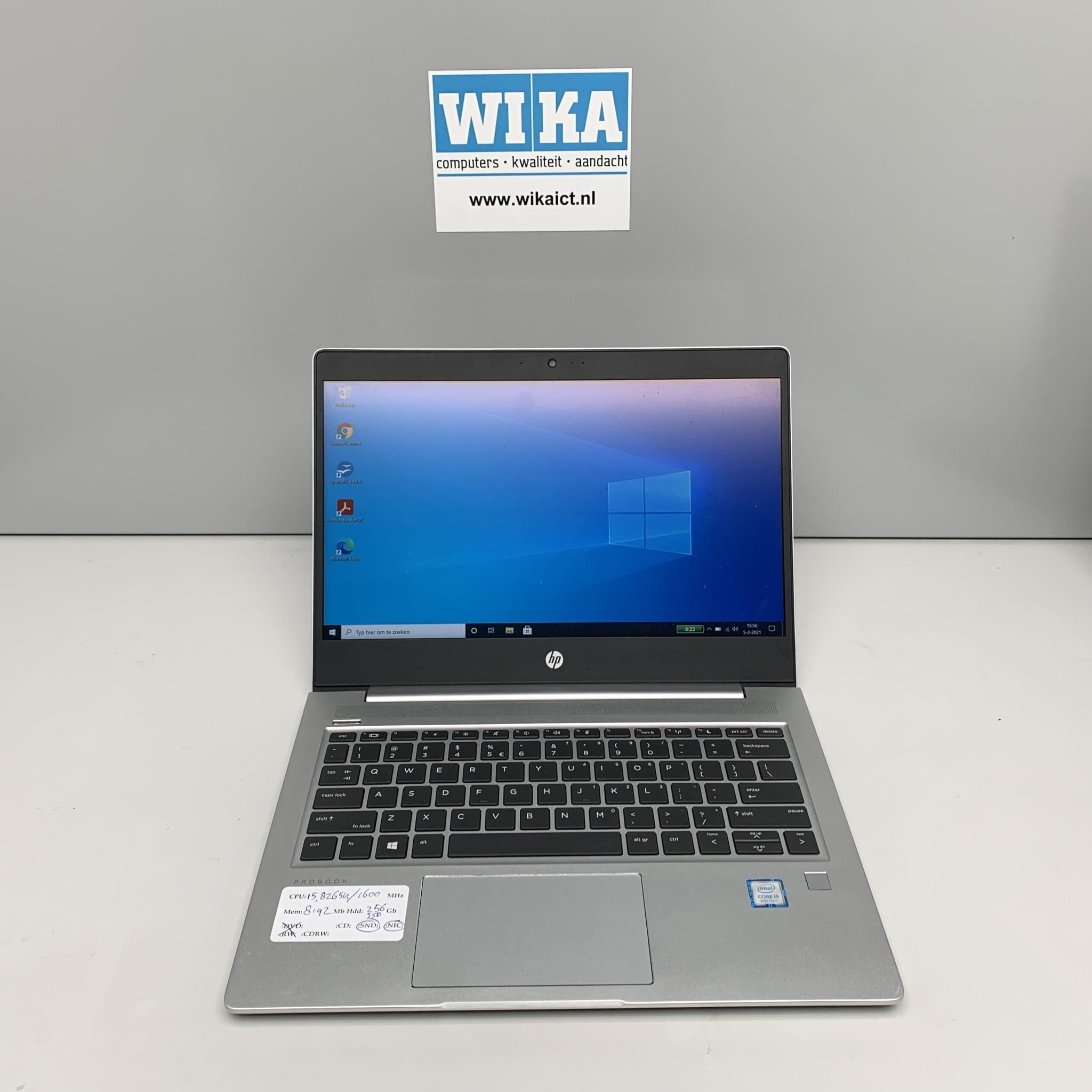 HP Probook 430 G6 Core i5 8Gb 256gb SSD 13.3 W10p laptop