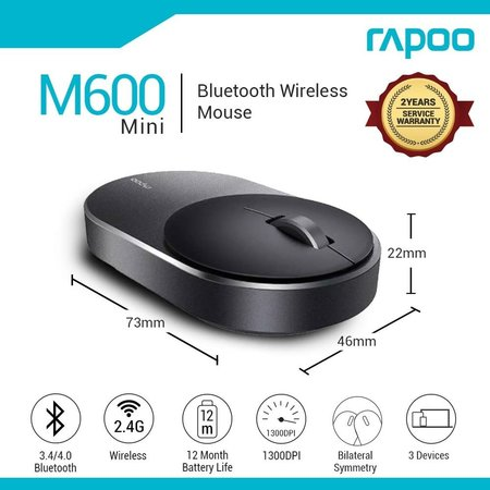 Rapoo M600 Mini Silent