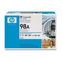 HP 92298A 98A Black toner