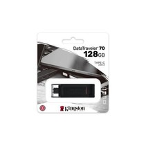 DataTraveler 70 USBC flash drive 128GB USB Type-C 3 2 Gen 1 3 1 Gen 1 Zwart