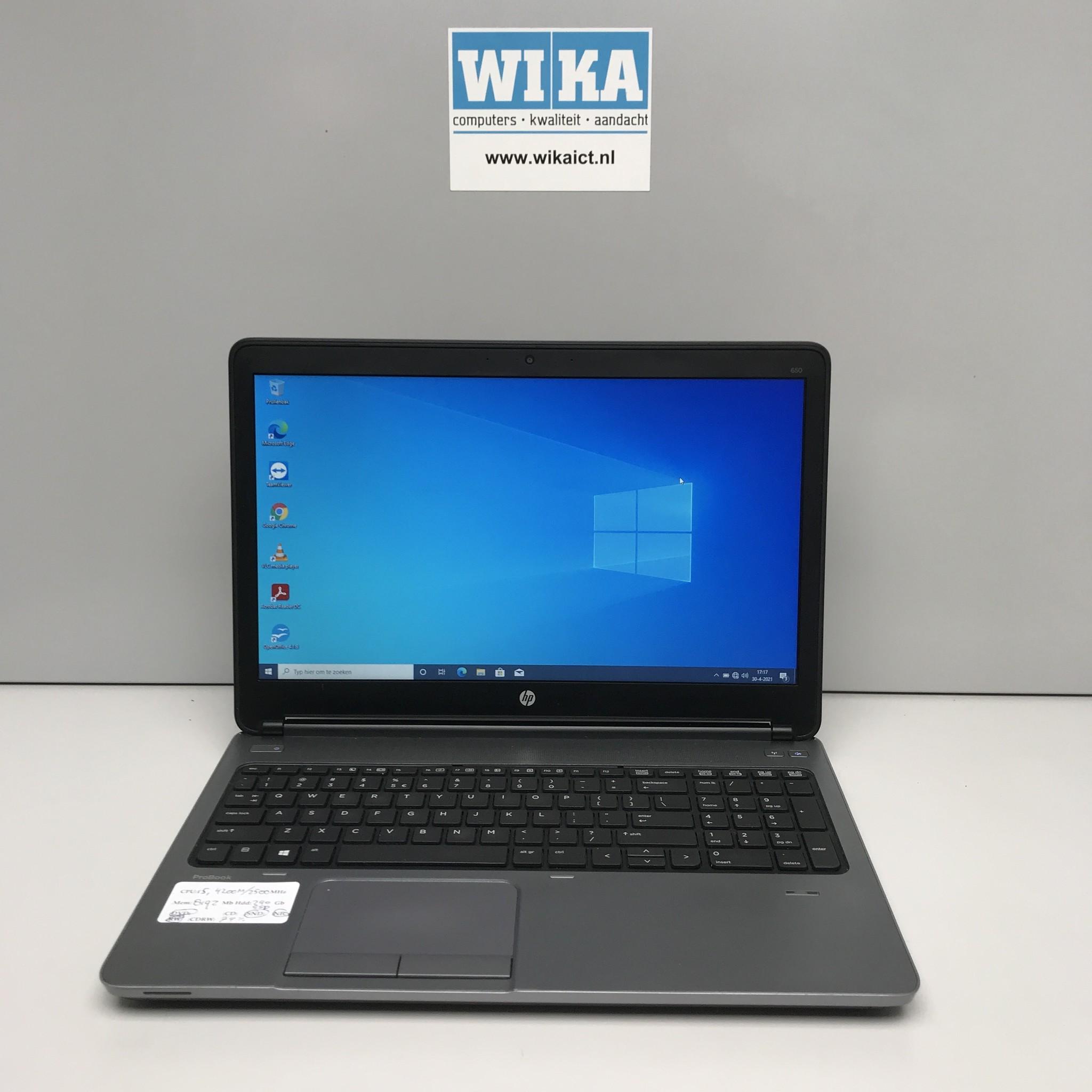 HP Probook 650 G1 i5-4200M 8Gb 240 gb SSD 15.6 laptop