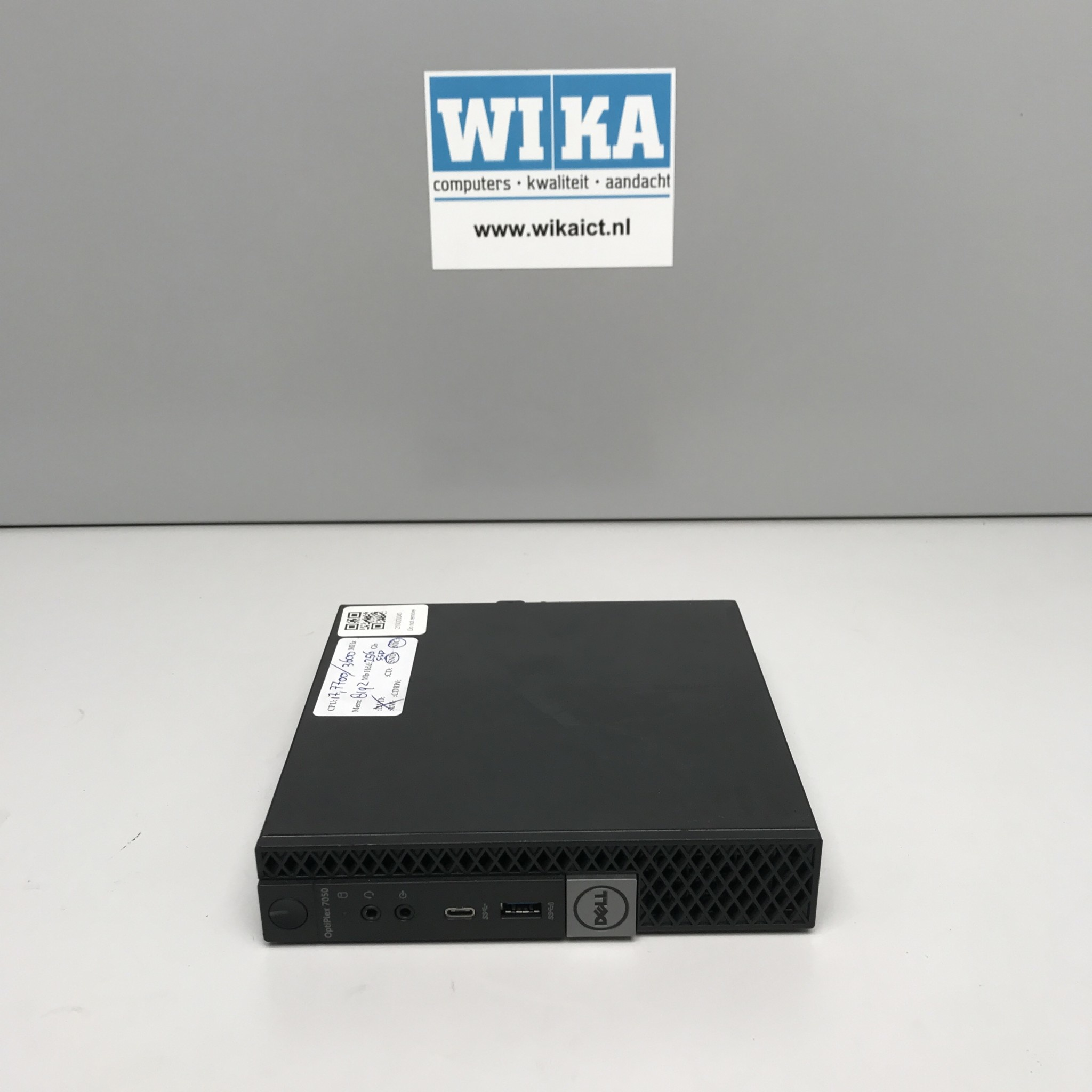 Dell Optiplex 7050 i7-7700 8Gb 256Gb SSD W10 Pro Tiny PC