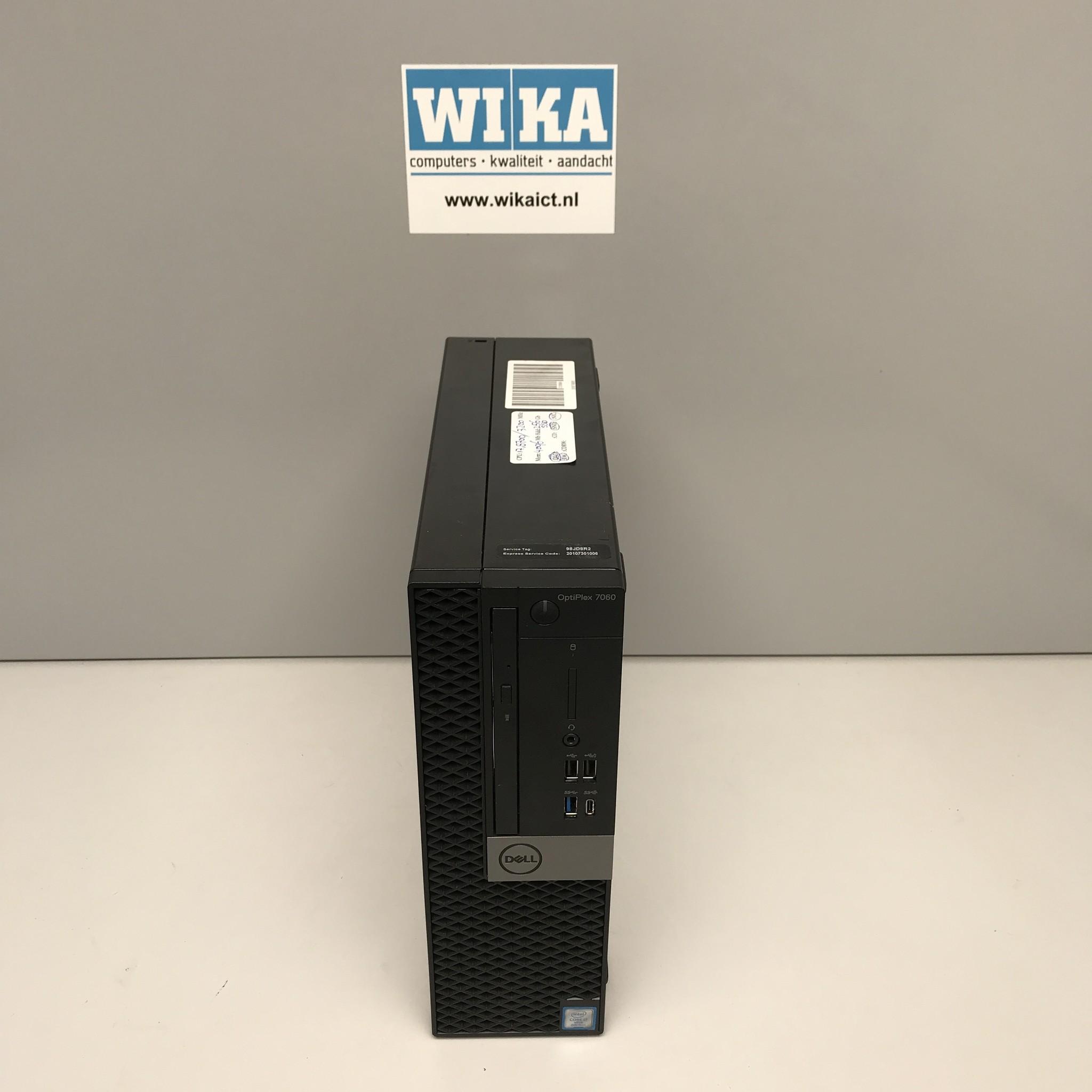 Dell Optiplex 7060 i7-8700 8Gb 256Gb SSD W10 Pro Tiny PC