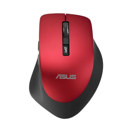 Asus WT425 Red draadloze muis