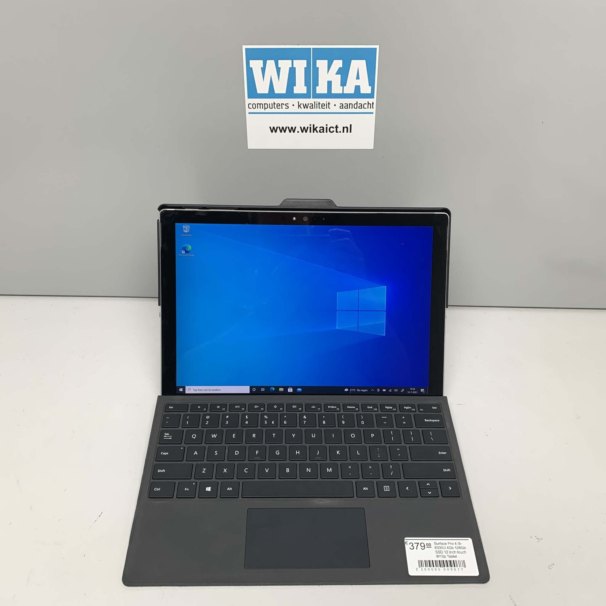 Surface Pro 4 i5-6300U 4Gb 128Gb SSD 12 inch touch W10p Tablet
